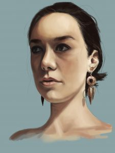 """Carlie - Speed Paint"""
